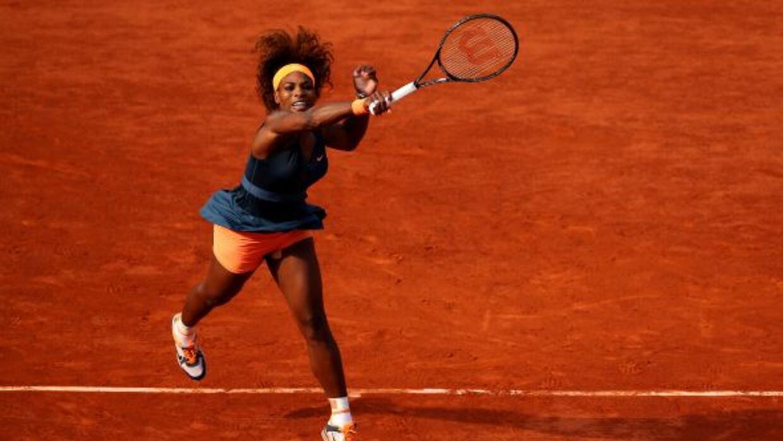 Contundente, así lo fue Serena ante Errani en la semifinal de Roland Gar...