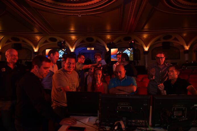 El 'Backstage' del 'Backstage': los ensayos previos al Balón de Oro DSC_...