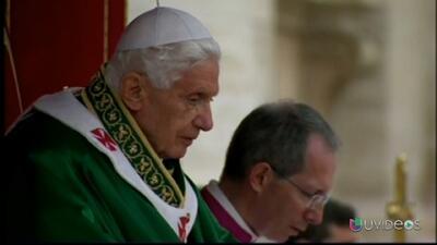 Benedicto XVI: la renuncia que cambió la historia de la iglesia católica