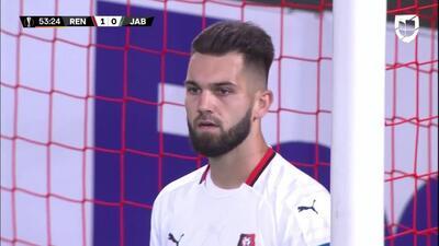 ¡GOOOL! Michal Travnik anota para FK Jablonec