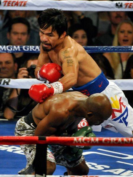 Bradley fue más pasivo que en la primera pelea.
