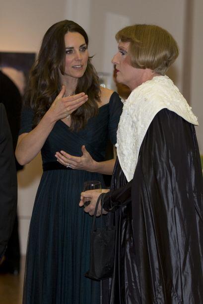 En cuanto al arreglo de su cabellera, Kate se inclinó por un ligero ondu...