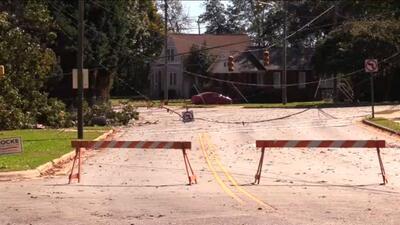 Tormenta causa daños significativos en el condado de Catawba