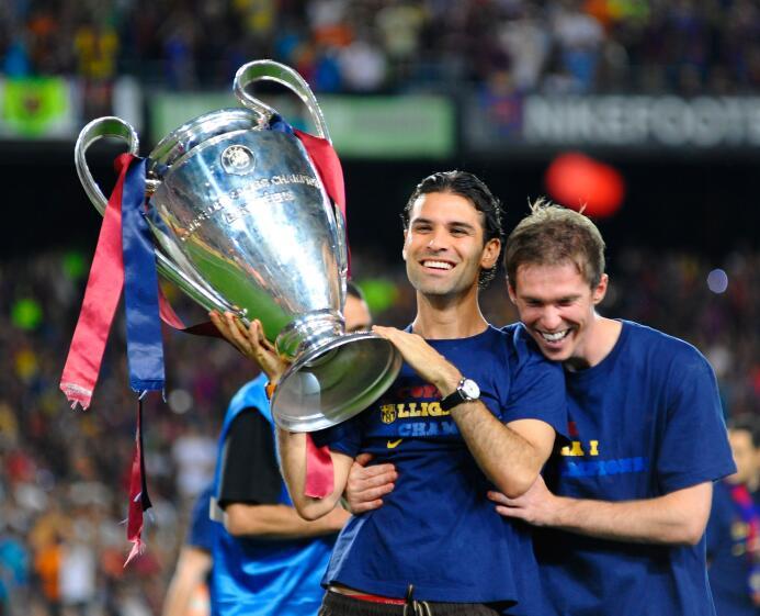 Jugadores que han ganado la Champions League y han jugado en la MLS