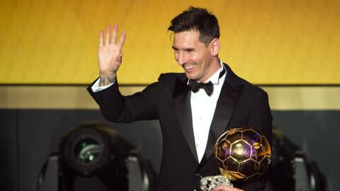 Messi lidera el palmarés del Balón de Oro