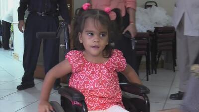 Niña cubana con amputación de piernas podría volver a caminar con un tratamiento en EEUU