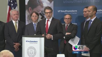 Perry anuncia la creación de centros contra ébola