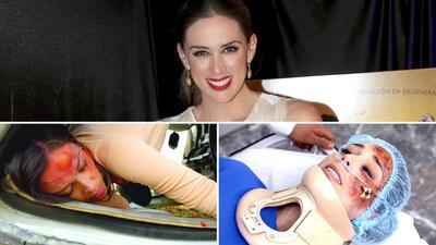 Jacqueline  Bracamontes tuvo un accidentado regreso a las telenovelas