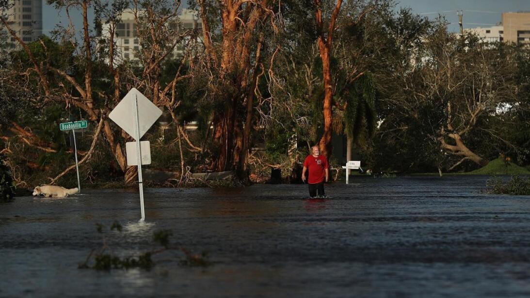 In photos: Getting home after Hurricane Irma Naples amaneció con varias...