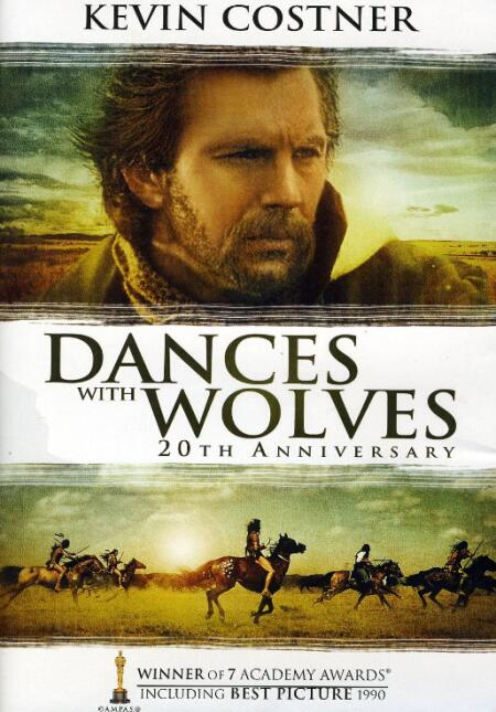 Película 'Dance with wolves'.