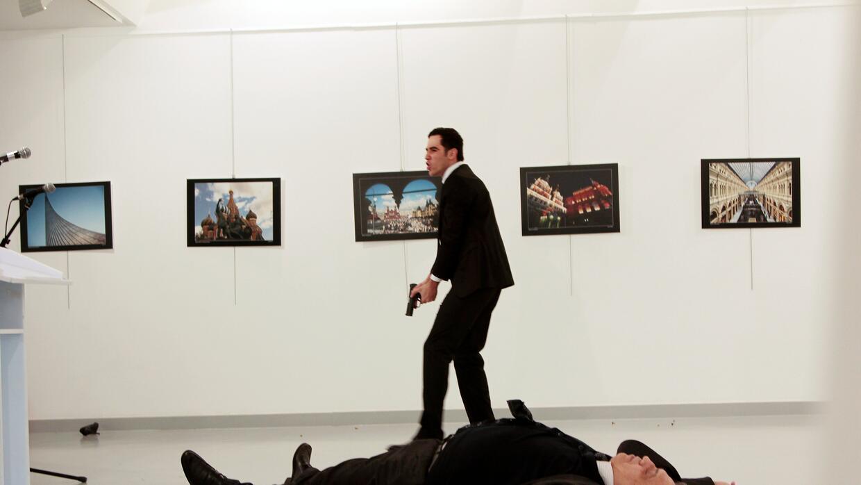 Asesinato Embajador ruso en Turquía