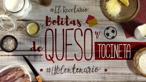 Bolitas de queso y tocineta #UDCentenario (video)