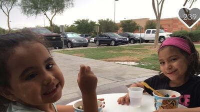 Audrey, de 5 años y Ariah, de 4, fueron asesinadas por su padre quien de...