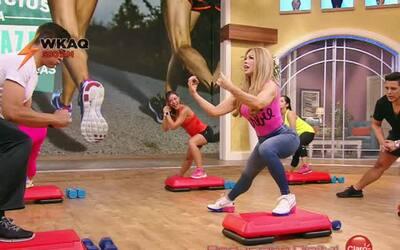 """Claudia Molina llega """"Jugosa y Fit"""""""