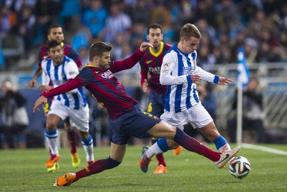 El Barcelona jugará la final el 19 de abril contra el Real Madrid, verdu...