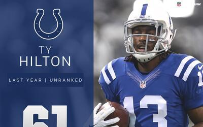 #61 T.Y. Hilton (WR, Colts) | Top 100 Jugadores 2017
