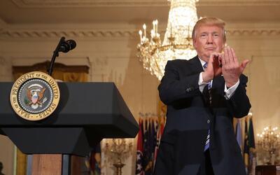 El presidente Trump ha aprendido que gobernar no es como hacer campa&nti...