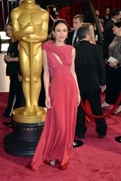 """La actriz Olga Kurylenko en la celebración de los """"scar en el Hollywood..."""
