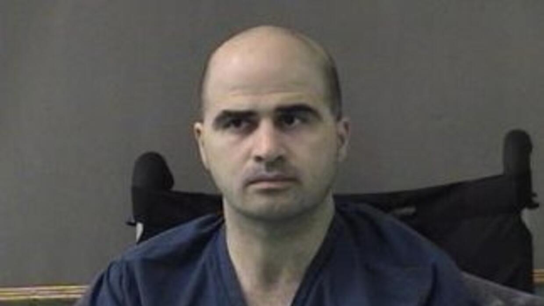 El comandante del ejército de Estados Unidos, Nidal Hasan, acusado de la...