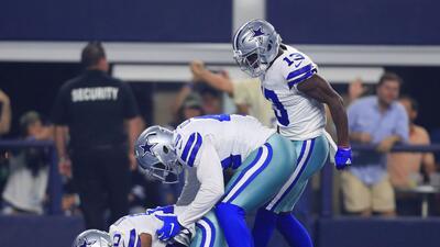 En fotos: sin mayores complicaciones los Cowboys superan 20-13 a los Giants