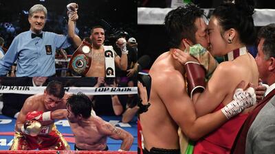 Amor, alegría y tristeza en velada boxística de Vargas vs. Pacquiao