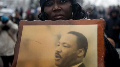 Loss postulados de no violencia de Martin Luther King han sido reactivad...