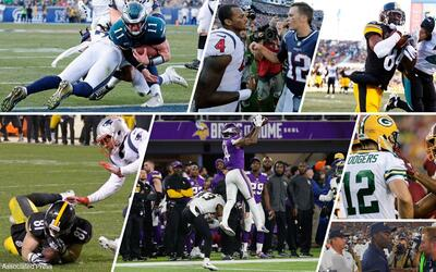 Eagles-Rams, Texans-Patriots y Steelers-Jaguars serán algunos de...