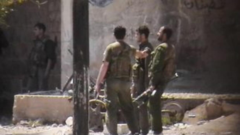 No se dispone de muchas imágenes del conflicto en Siria porque las autor...