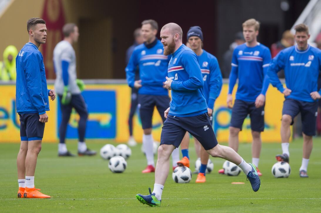 Entrenamiento 'vikingo': así fue la práctica de Islandia para su amistos...