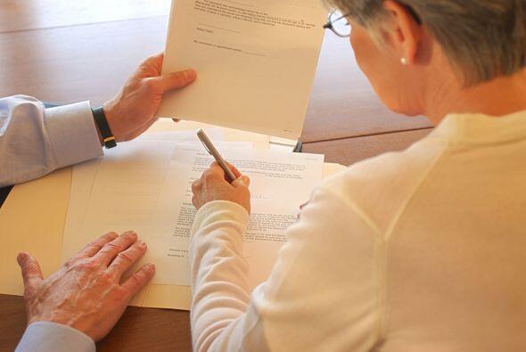 """Aquí el estafador te entregará una serie de documentos de """"rescate hipot..."""