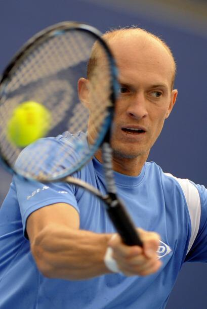 Nikolay Davydenko perdió 7-6 (2) y 6-4.
