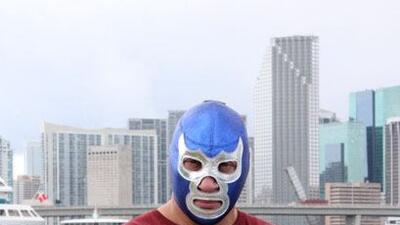Blue Demon llegó a Mira Quién Baila