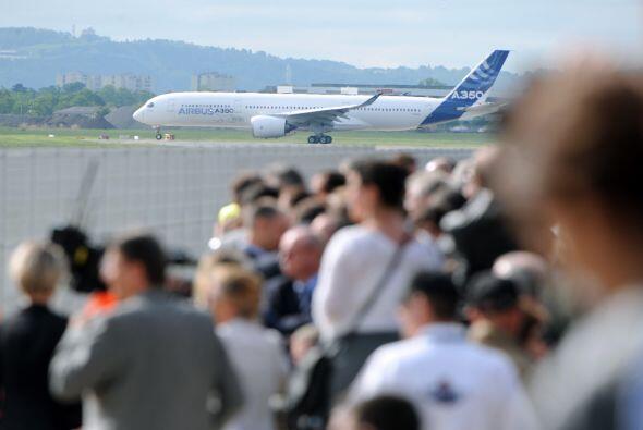 El Airbus A350 y el Boeing ahora comenzarán una lucha por ofrecerle al m...