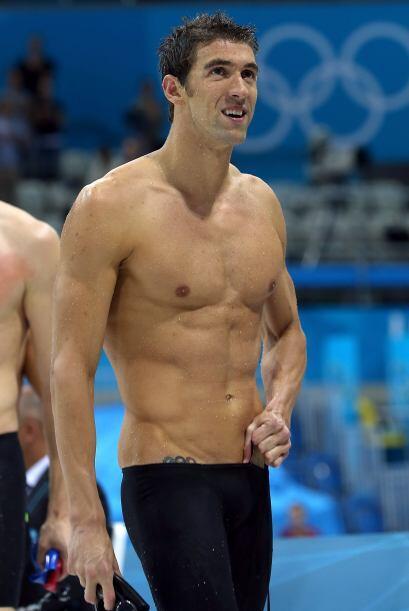 En el número 10 se encuentro el medallista olímpico Michael Phelps.