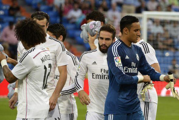 El conjunto merengue abrió las acciones en la quinta jornada de la Liga...