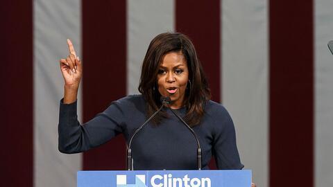 Por qué Michelle Obama hace campaña por su antigua enemiga como no la hi...
