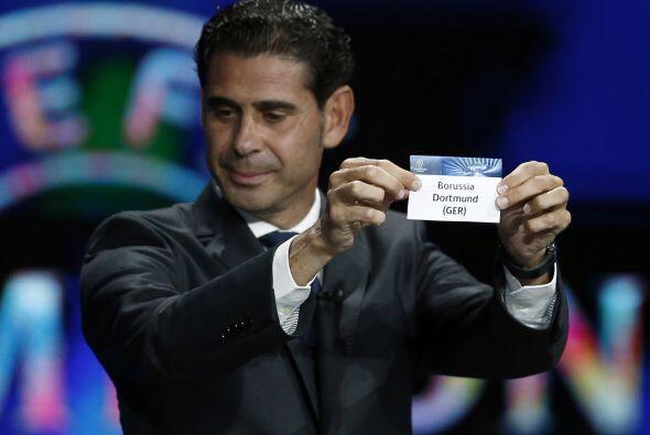 Fernando Hierro sacó los equipos del segundo bombo y tuvo buena mano par...