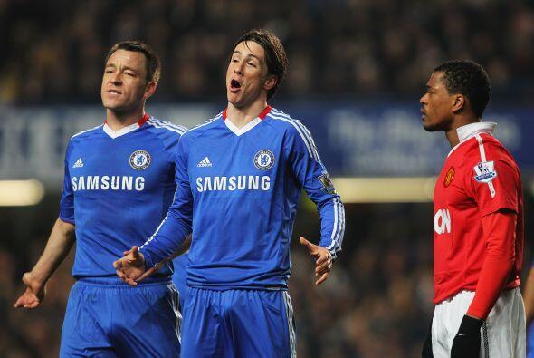 Ya con el empate, se esperaba más del español Fernando Torres, pero pasó...