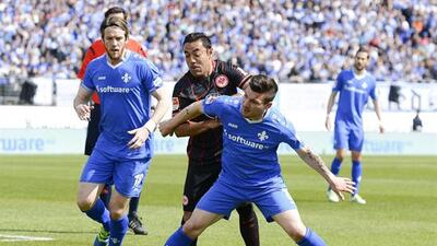 Eintracht Frankfurt venció a Darmstadt con Marco Fabián de titular