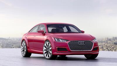 El Audi TT ganará dos puertas traseras en 2021