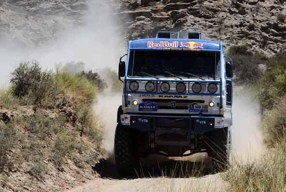 La competencia en la categoría de los camiones es peculiarmente cansada.