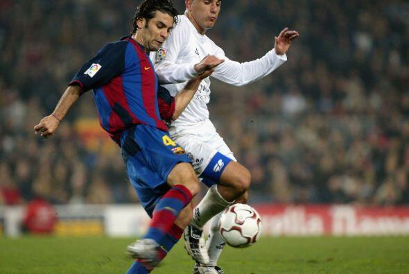 Rafael Márquez hizo su debut con el equipo catalán el 3 de septiembre en...