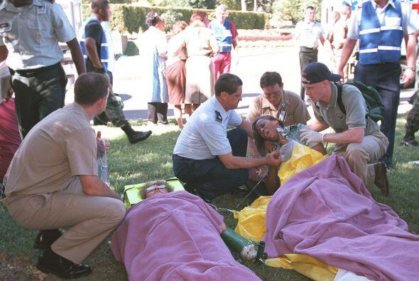 10 MIL HERIDOS- Es la cifra aproximada de heridos durante los atentados.