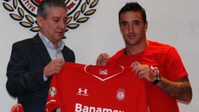 Juan Manuel Salgueiro, nuevo jugador del Toluca.
