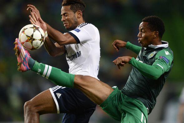 En un partido de muchos goles, el Sporting Lisboa consiguió una i...