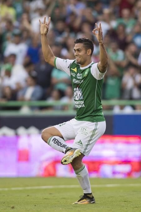 Un Mauro Boselli centenario le da la victoria al León gol-andres-andrade...