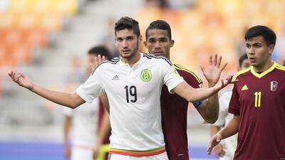 México perdió contra Venezuela pero aseguró cupo en segunda fase del Mundial Sub-20