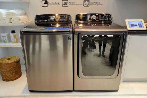 Samsung lanzó un modelo más de su línea de lavadora...