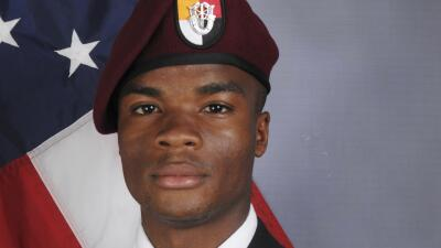 El sargento La David Johnson murió en una emboscada de Estado Isl...