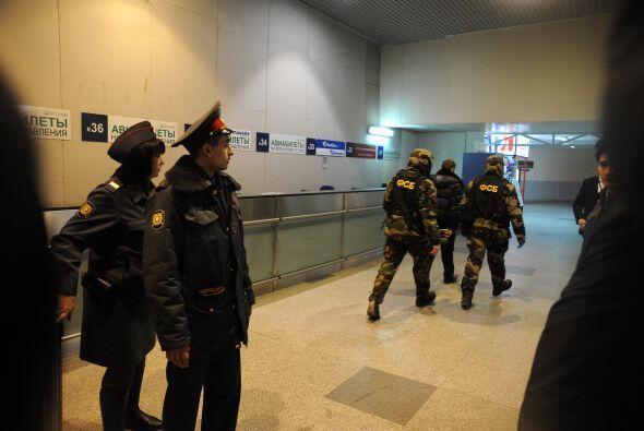 Los detalles de la fuerza de seguridad rusa al respecto de la supuesta c...
